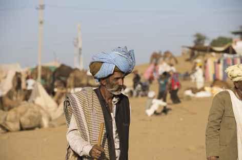 Portrait Vieil homme Rajput - Inde -