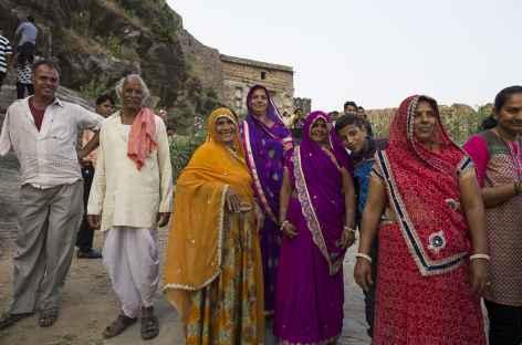 Portrait d'une famille indienne -