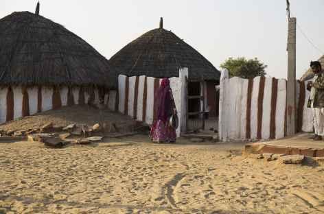Village du désert du Thar -