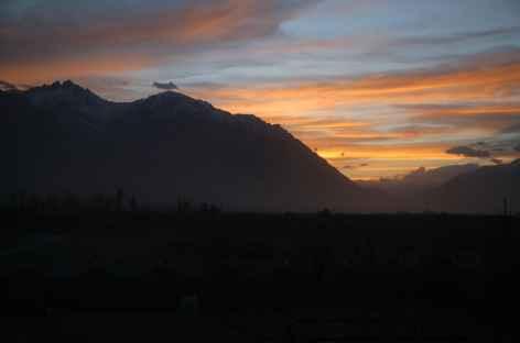 Coucher de soleil - Ladakh -