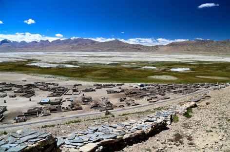 Thugle,  lac Tso Khar - Ladakh -