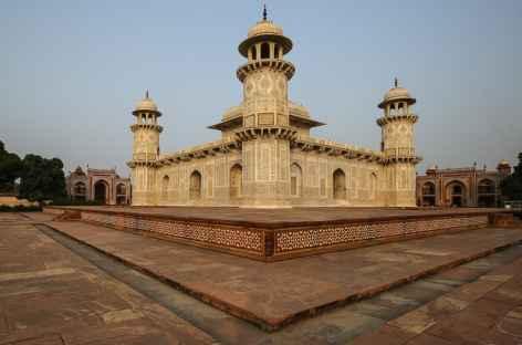 Agra : Le mausolée Itimad-Ud-Daulah -