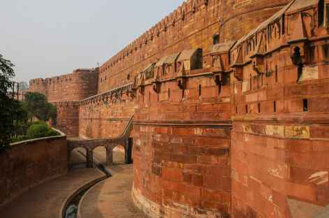 Agra le fort rouge -