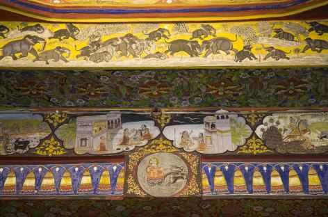 Udaipur Peintures et décorations du city palace d'Udaipur -