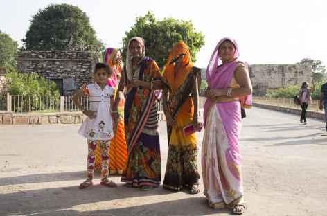 Visite en famille à Chittogarh -