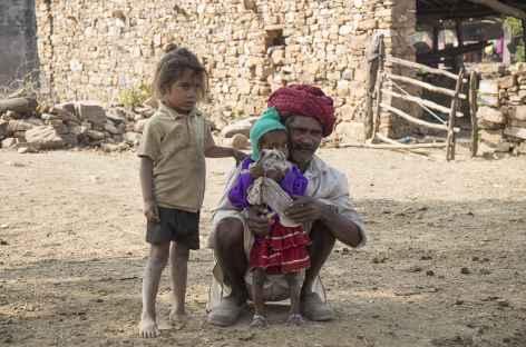 Balade village vers Bijaipur -