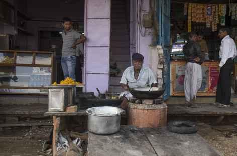 Village avant Kumbalgarh -