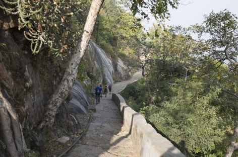 Descente vers Parshunath -