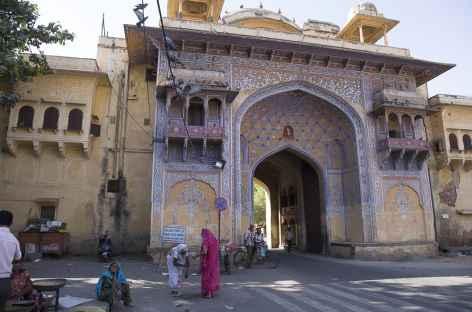 Une des portes d'entrée de la vielle ville de Jaipur -