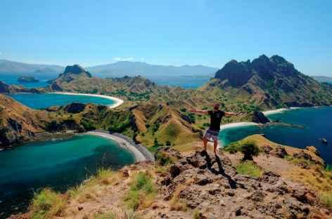 Rando sur les crêtes de Padar, Komodo - Indonésie -