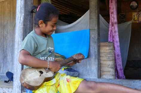 Dans un village Ngada des hautes terres de Flores - Indonésie -