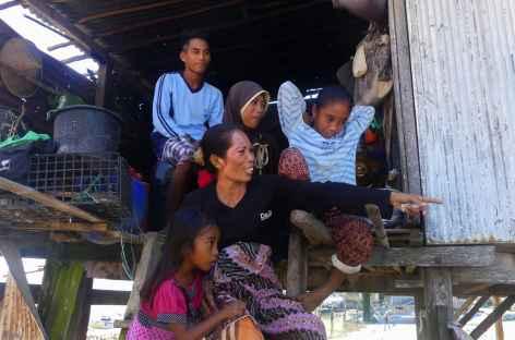 Village de pêcheurs Bugis, côte nord-ouest de Flores - Indonésie -