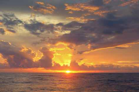 Coucher de soleil à Wakatobi - Indonésie -