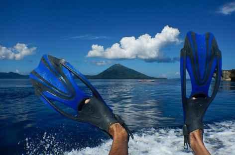 Snorkeling au large des îles Banda, Moluques - Indonésie -