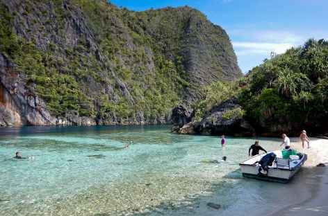 Débarquement vers l'archipel de Wagmab, Raja Ampat - Indonésie -