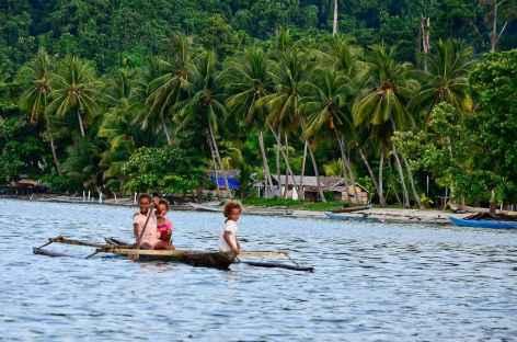 Au large du village de Yensawai, île de Batanta, Raja Ampat - Indonésie -