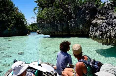 Labyrinthe karstique vers Wagil Raja Ampat - Indonésie -