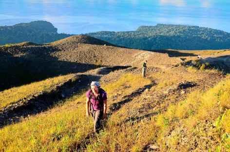 Au sommet du volcan Gunung Api (640 m), Banda - Indonésie -