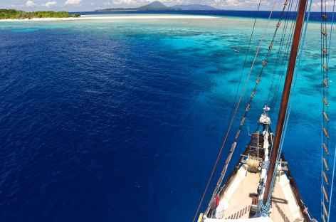 Au large de l'île de Run, Banda - Indonésie -