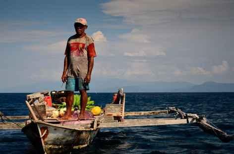 Pêcheur, Raja Ampat - Indonésie -