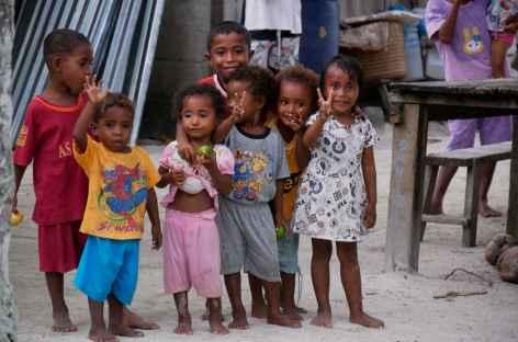 Village papou,Raja Ampat - Indonésie -