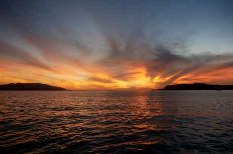 Coucher de soleil, Raja Ampat - Indonésie -