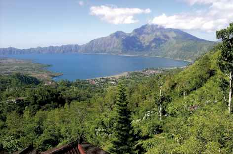 Caldeira et lac Batur, Bali - Indonésie -