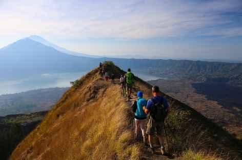 Crête du volcan Batur, Bali - Indonésie -
