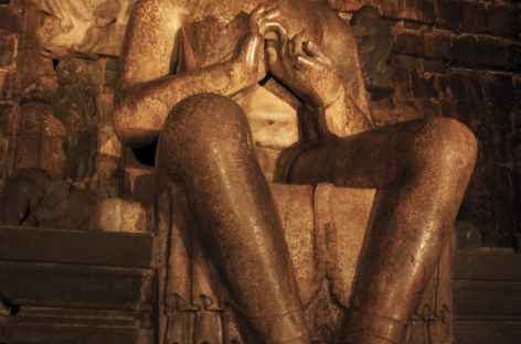 Bouddha de Mendut, Java - Indonésie -