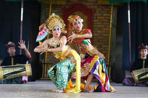 Spectacle de danses balinaises - Indonésie -