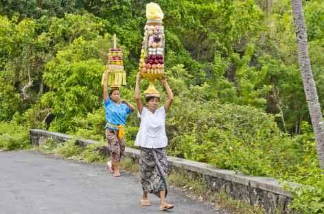 Offrandes à Bali - Indonésie -