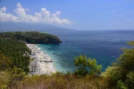 Plage sauvage de Pasir Putih, Bali - Indonésie -
