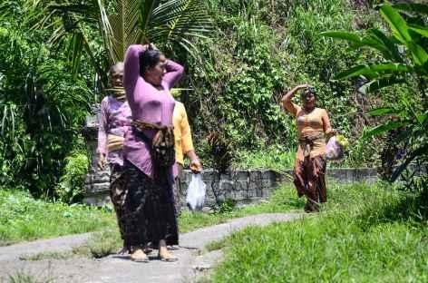 Femmes balinaises - Indonésie -