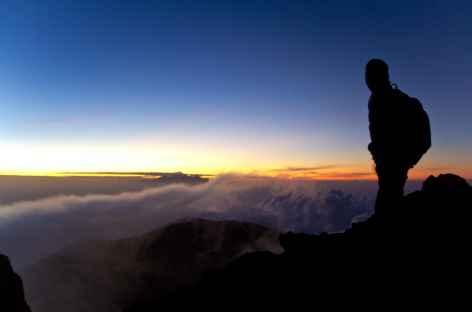 Lever de soleil du Mont Agung (3142 m), Bali - Indonésie -