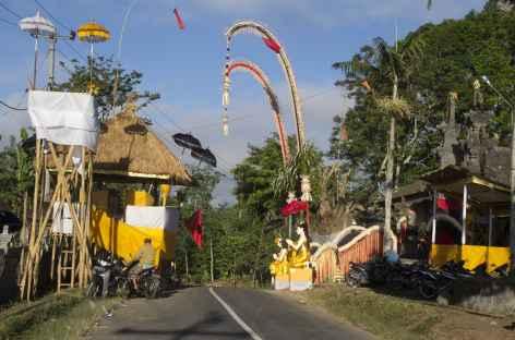 Cérémonie religieuse, Bali - Indonésie -