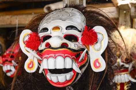 Masque balinais, marché d'Ubud, Bali - Indonésie -