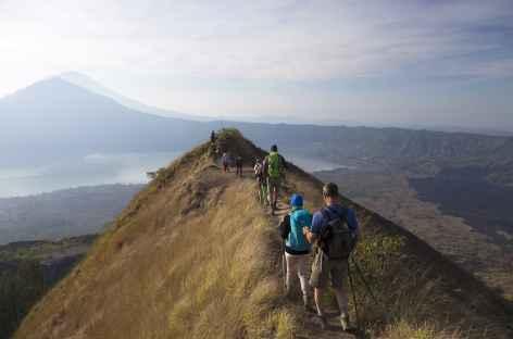 Crête sommitale du Mt Batur (1717 m), Bali - Indonésie -