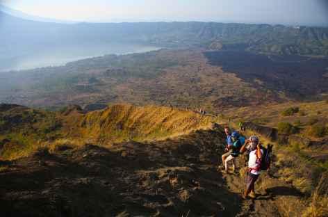 Descente du Mt Batur, Bali - Indonésie -