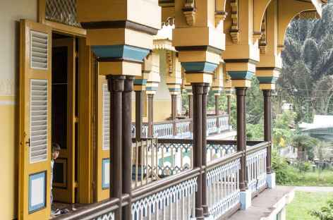Palais du Sultan de Medan, Sumatra - Indonésie -