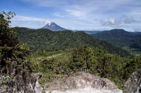 Montée au volcan Sibayak (2172 m), Sumatra - Indonésie -