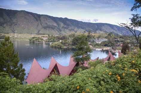 Ile de Samosir, lac Toba, Sumatra - Indonésie -