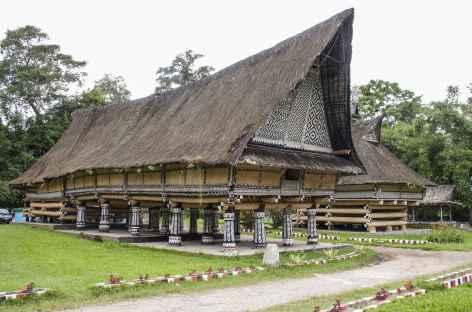 Vieux palais du roi à Pematang Purba, Sumatra - Indonésie -