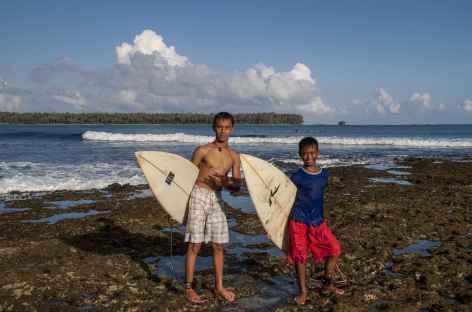 Sorake Beach, spot de surf, Nias, Sumatra - Indonésie -