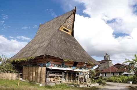 Village batak karo de Lingga, Sumatra - Indonésie -