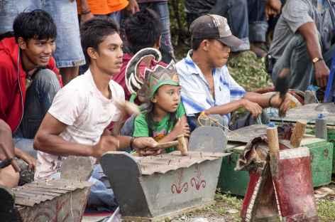Les Batak Karo, ethnie autour de Brastagi, Sumatra - Indonésie -