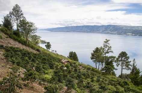 Rive est du lac Toba, Sumatra - Indonésie -