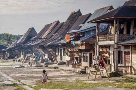 Un des villages du sud de Nias, Sumatra - Indonésie -