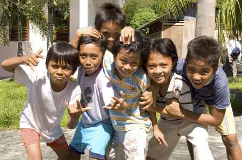 Sourires d'enfants, Sulawesi - Indonésie -