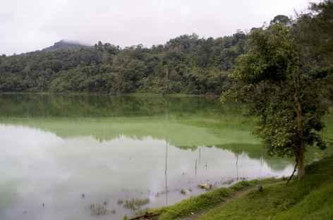 Lac soufré de Linau, Sulawesi - Indonésie -