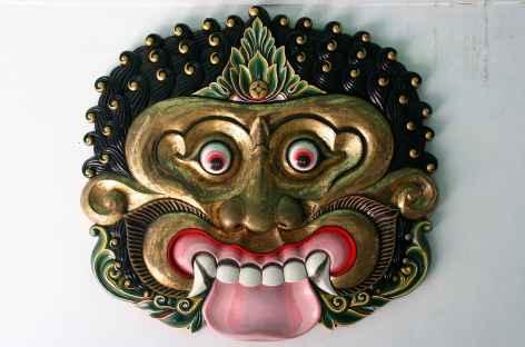 Masque à Jogja, Java - Indonésie -